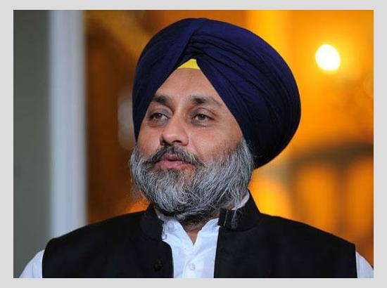 Sukhbir Badal expresses shock at neglect of civic amenities in holy city of Amritsar under