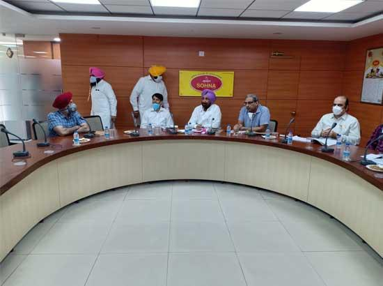 Randhawa issues guidelines for upliftment of cooperative societies