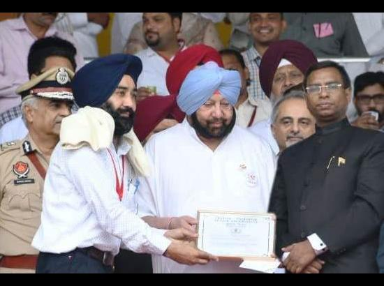 Sukhpal Singh gets state award under Swachh Bharat Mission