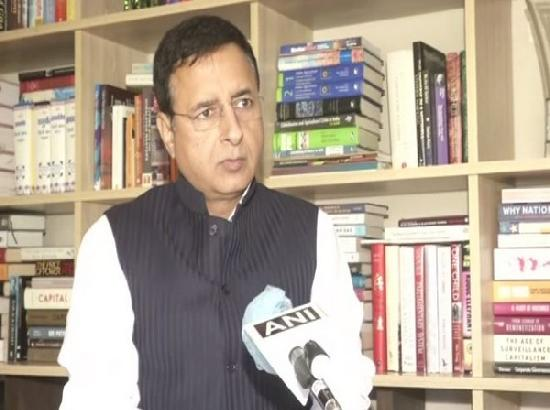 Congress leader Randeep Singh Surjewala tests positive for COVID-19