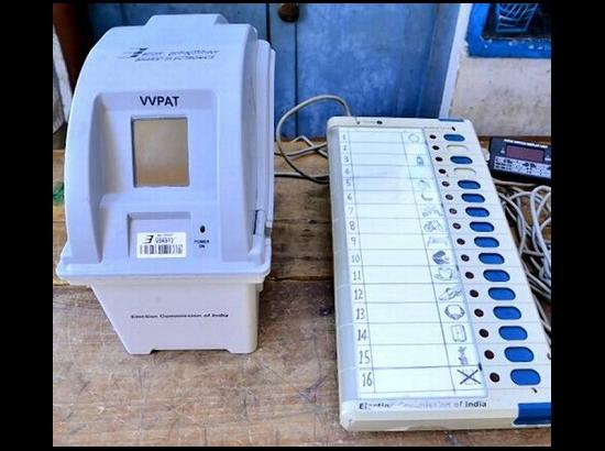 130 VVPATs and 10 EVMs replaced during Andaman Elections