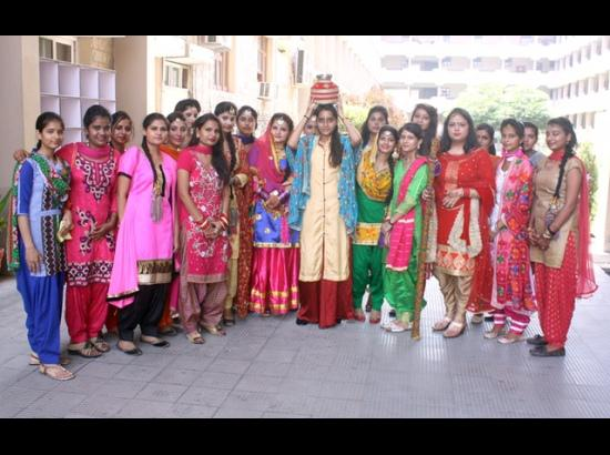 CT Group of Institutions celebrate Teej at Maqsudan Campus
