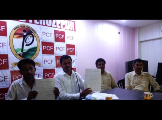 Akali Sarpanch alleges false police case agai