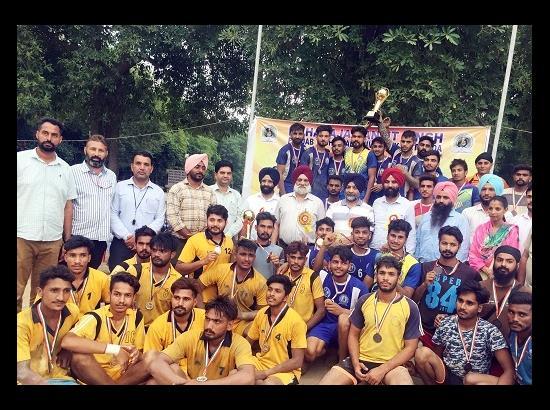 MRSPTU Campus team wins inter-college Kabaddi Tournament