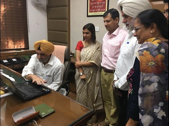 Tript Bajwa inaugurates software 'Secure' to make MGNREGA estimates online