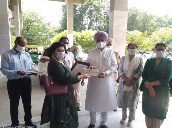 Balbir Singh Sidhu issued appointment letters to 105 specialist doctors
