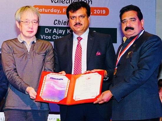 VC IKGPTU conferred with Fellow Award by Punjab Academy of Sciences