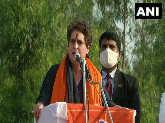 Don't step back, farm laws will be scrapped once Congress comes to power: Priyanka Gandhi