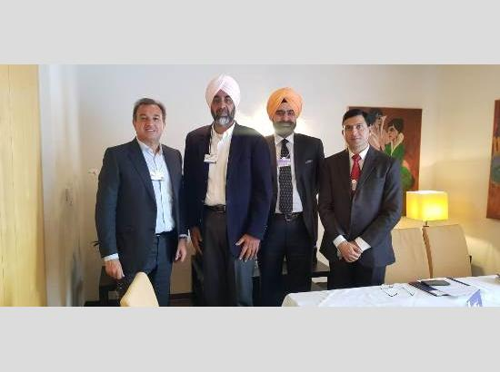 Invest Punjab delegation led by Manpreet Singh Badal secures commitment from UPG group to set up five projects in Punjab