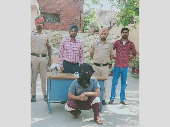 PO in several criminal cases held with illegal weapon in Mohali