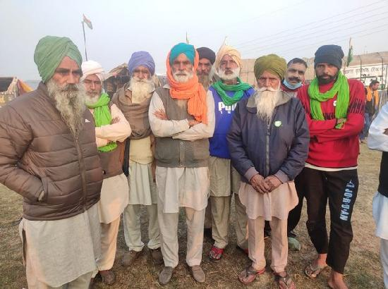 Agitating farmers at Burari ground have no hope from meeting with Centre