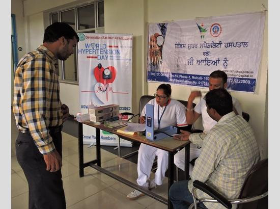 General Saviour Association celebrates World Hypertension Day at Indus Hospital
