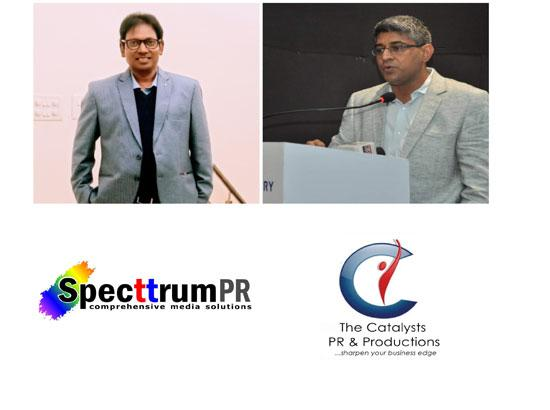 North India's PR Industry bigwigs Specttrum PR & The Catalysts PR sign unique pact