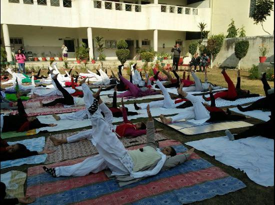 Two-day Yoga camp held at Lyallpur Khalsa College of Education for Women, Jalandhar
