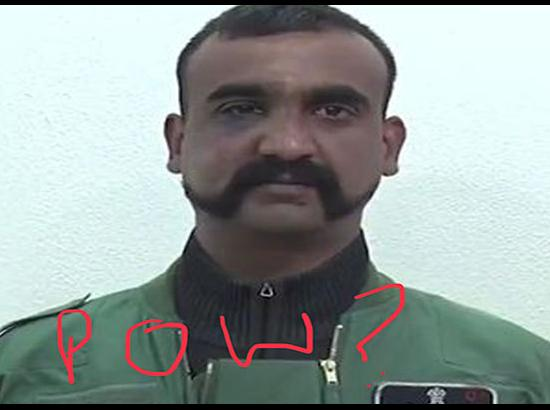 Was Wing Commander Abhinandan treated as POW ?