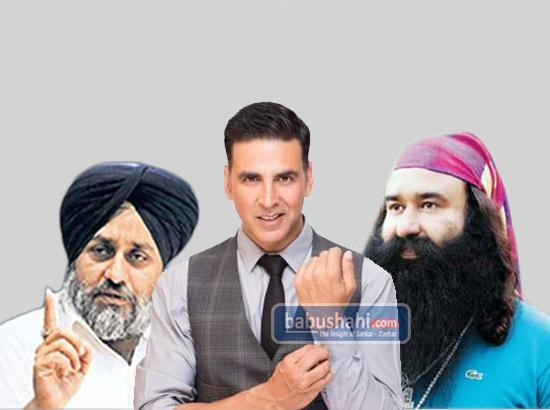 Now Akshay Kumar speaks on the alleged meeting with Dera Sirsa Head and Sukhbir Badal