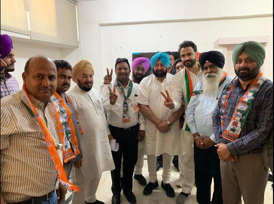 Several AAP, PEP leaders of Sangrur join Congress Amarinder's presence