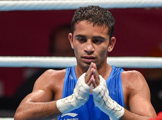 Asiad 2018 - Amit bags gold in men's boxing