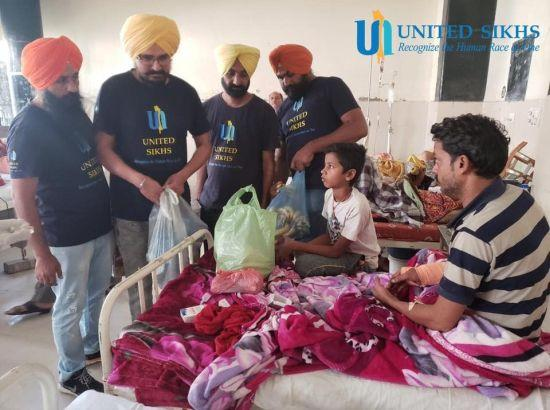 UNITED SIKHS organise emergency relief for Dussehra tragedy survivors