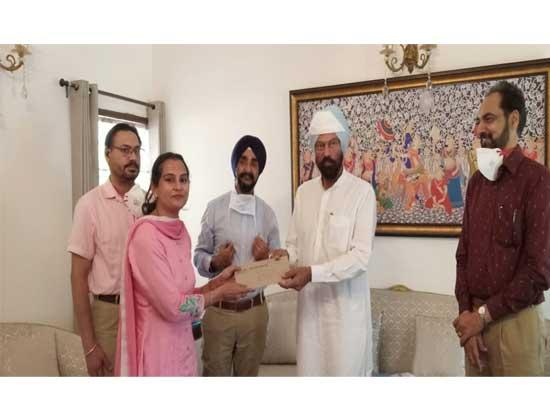 Rana Sodhi hands over appointment letters to the newly appointed District Sports Officers