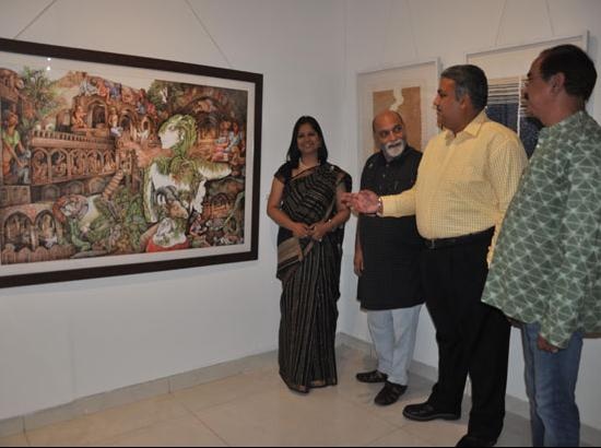 First professional private Art Gallery 'Art Atari' opens at Mohali