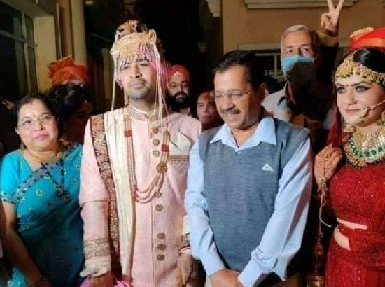 Impose Rs 2000 fine on Delhi CM for not wearing mask attending wedding function: Congress leader Lamba