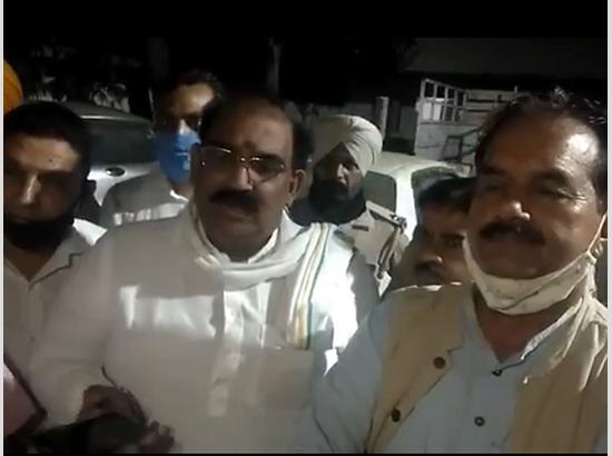 Punjab BJP president Ashwani Sharma attacked  ( Watch Video )