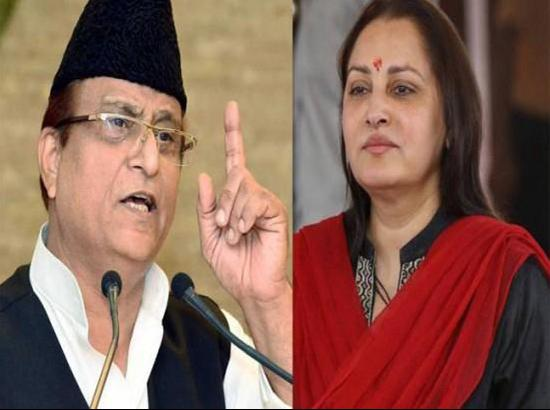 Sexist jibe against Jaya Pradha : Azam Khan penalised by EC