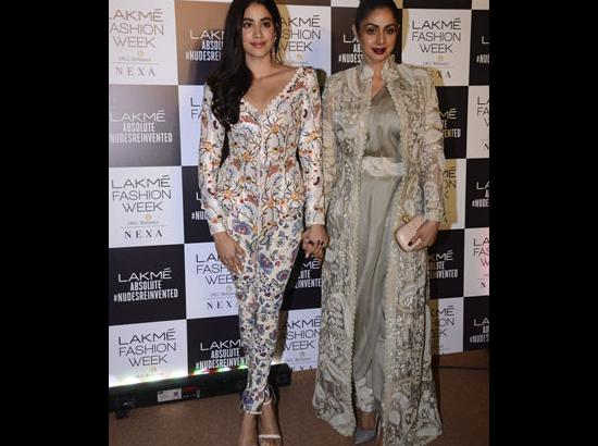 You can't wear anything on your face: Sridevi advised Janhvi