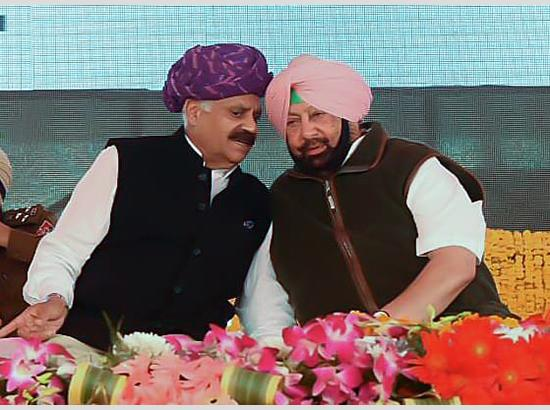 Capt Amarinder Flays Bir Devinder Singh's Criticism Of Governor As Unwarranted