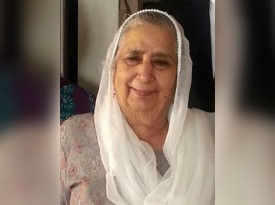 Canada : Hayer family bereaved, Baldev Kaur wife of late Tara Singh Hayer is no more