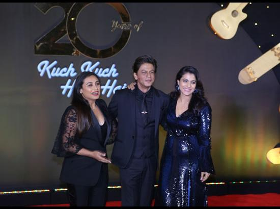 Rani Mukerji, Shah Rukh Khan and Kajol