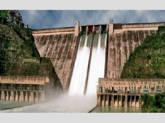WARNING: 77,300 cusecs of water to be released from Bhakra Dam at 1 pm today