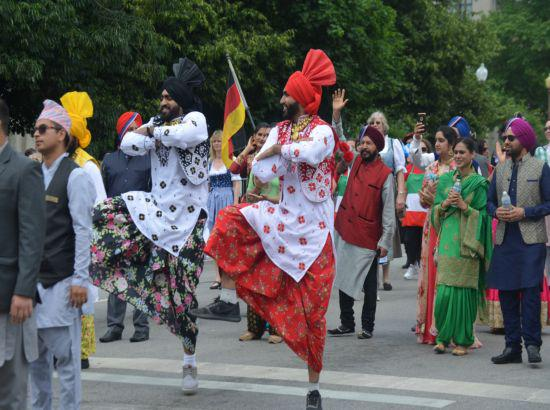 Bhangra makes debut in Indy 500 Parade