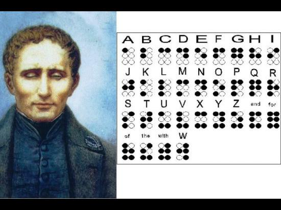 Special on Louis Braille's Birthday on January 4