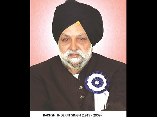 Remembering Bakhshi Inderjit Singh, A  Panth Sewak & Punjabi Journalist