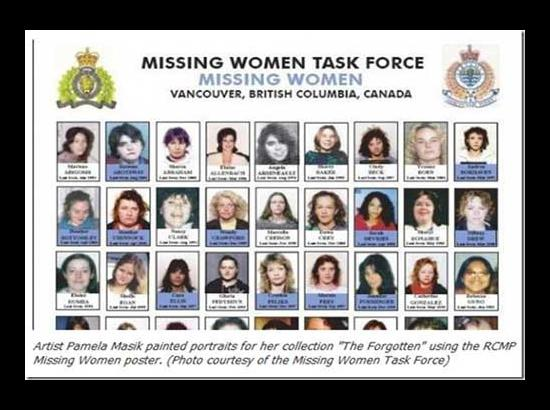 Ujjal Dosanjh's Blog :  Missing & Murdered Women & Girls : Need To Retool National Inquiry