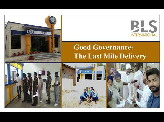 Good Governance: An Epitome of Effortless Services to the Citizens of Punjab through Sewa Kendras