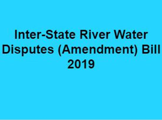 How Inter-State River Water Disputes (Amendment) Bill 2019 can prove dangerous for Punjab ?