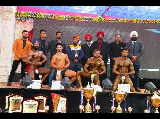 Gobindgarh youth bagged Mr.Punjab title at State-level Body Building Competitions