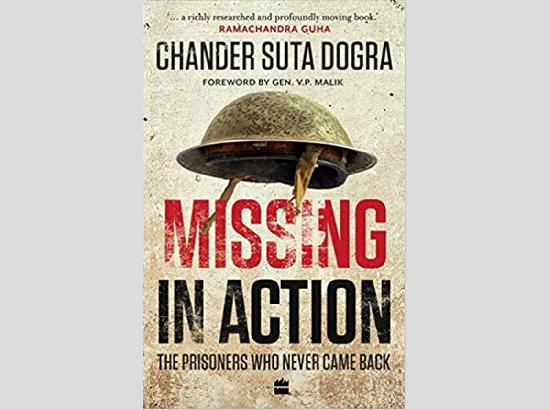 Book on Indian prisoners of war who never came back, to be released on Jan 25