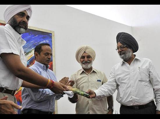 Manpreet Badal Releases PPS Gill's Book