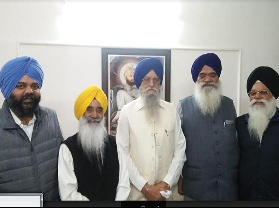 Rebel Akalis announce to float new Shiromani Akali Dal ( watch live )