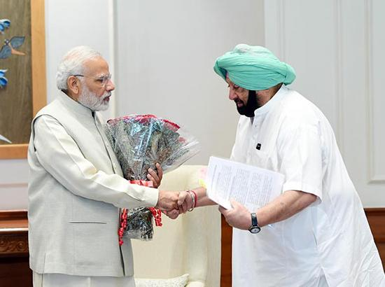 Capt. meets PM to press for compensation for