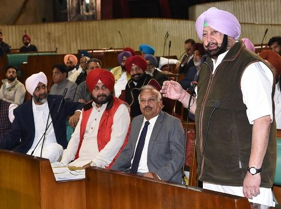 Capt. Amarinder recognises Kartarpur corridor as bridge of peace but sticks to his stand