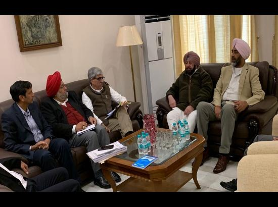 Capt. Amarinder to camp in border areas for 3 days