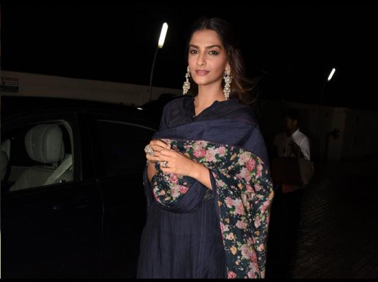 Sonam Kapoor - Special screening of upcoming
