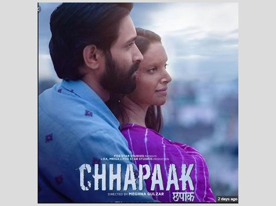 'Chhapaak' opens to mild response, mints 4.77 crore on opening day