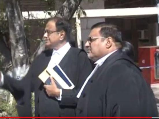 Video: Ex-Finance Minister P Chidambram appears in HC in Suresh Kumar case