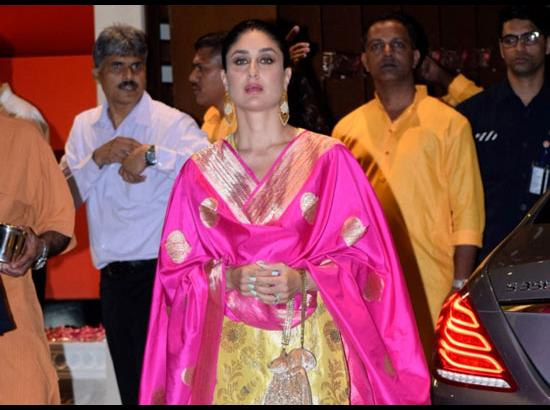 Kareena Kapoor Khan - Ganesh Chaturthi celebrations at Mukesh Ambani's residence